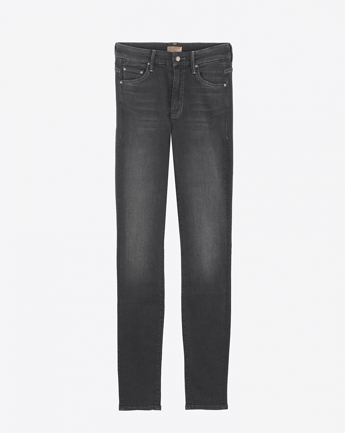 Mother Denim Pré-Collection High Waisted Looker - Coffee Tea or Me