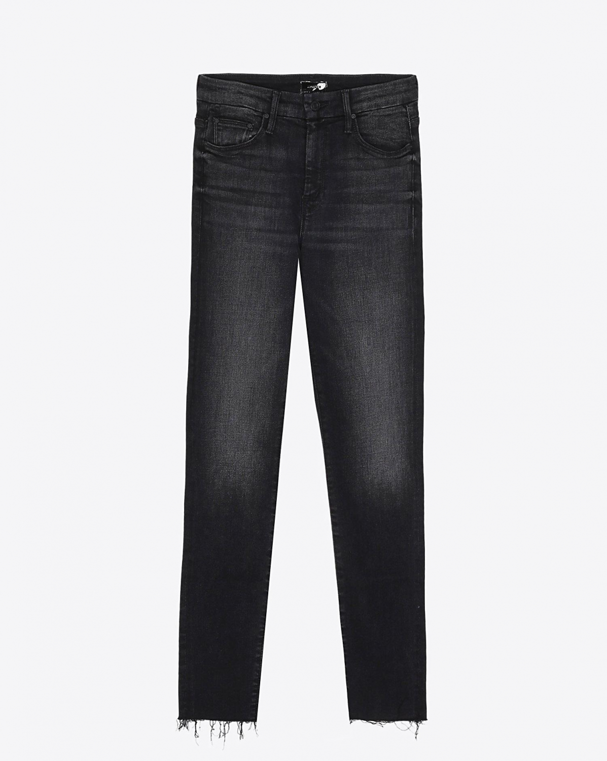 Mother Denim Pré-Collection High Waisted Looker Ankle Fray- Night Hawk