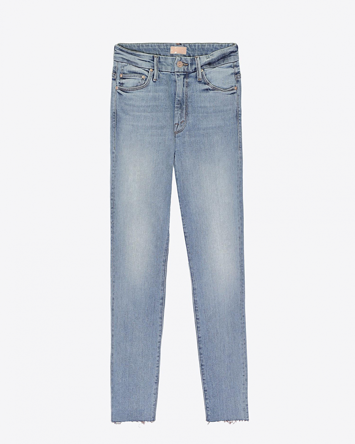 Mother Denim Pré-Collection High Waisted Looker Ankle Fray - Pretty Please