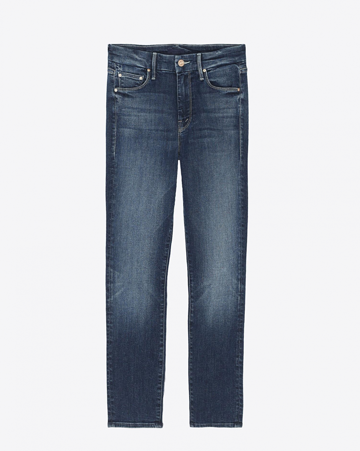 Mother Denim The Looker Cropped Skinny - On The Edge