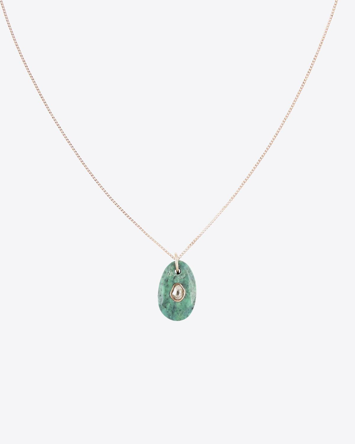 Pascale Monvoisin Orso N°1 Collier Turquoise