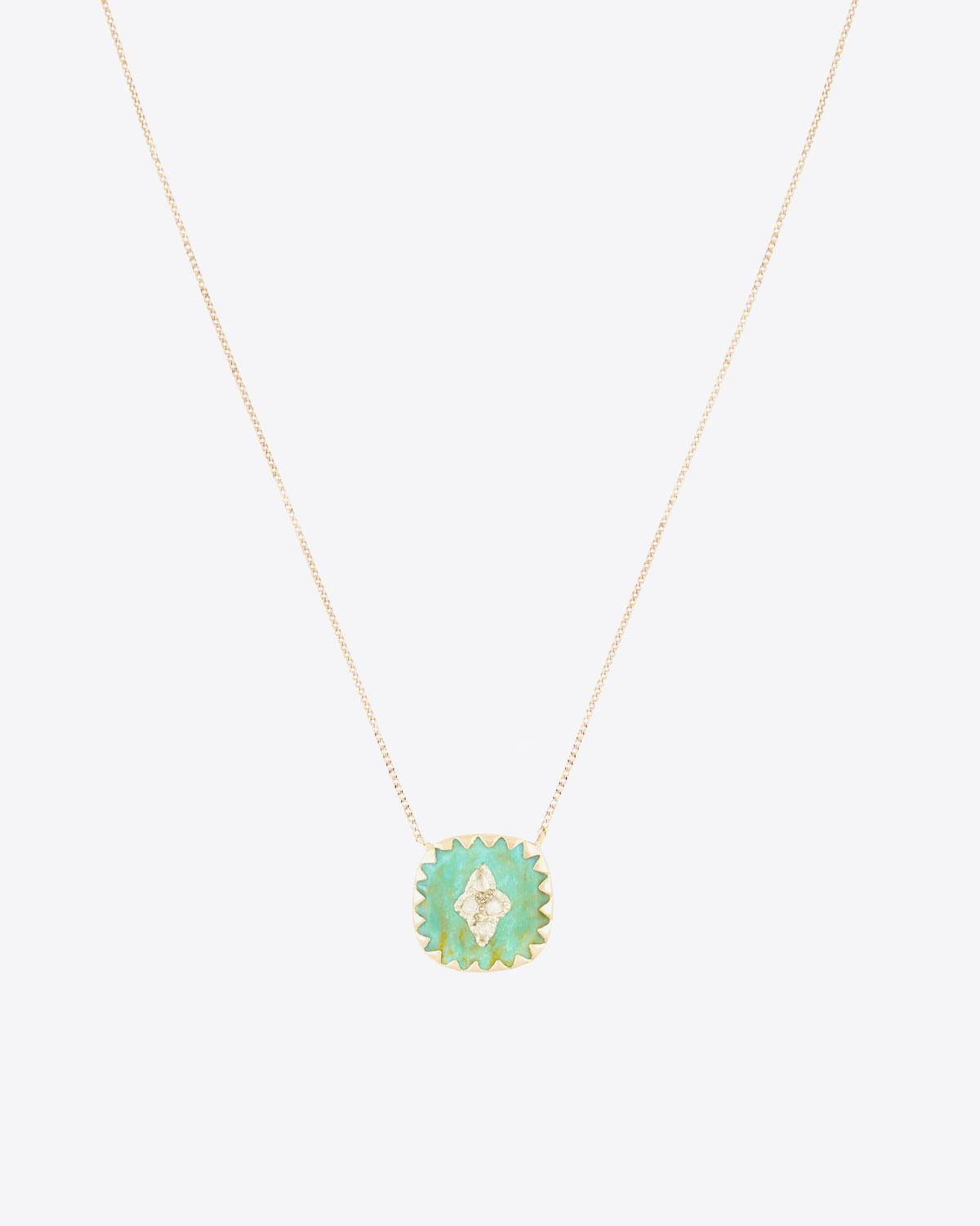 Pascale Monvoisin Pierrot N°2 Collier Turquoise
