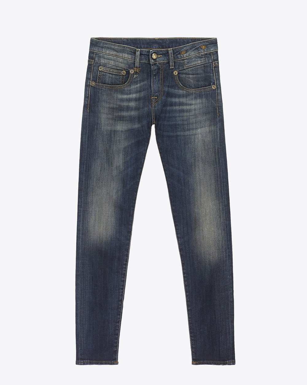 R13 Denim Boy Skinny - Vintage Blue