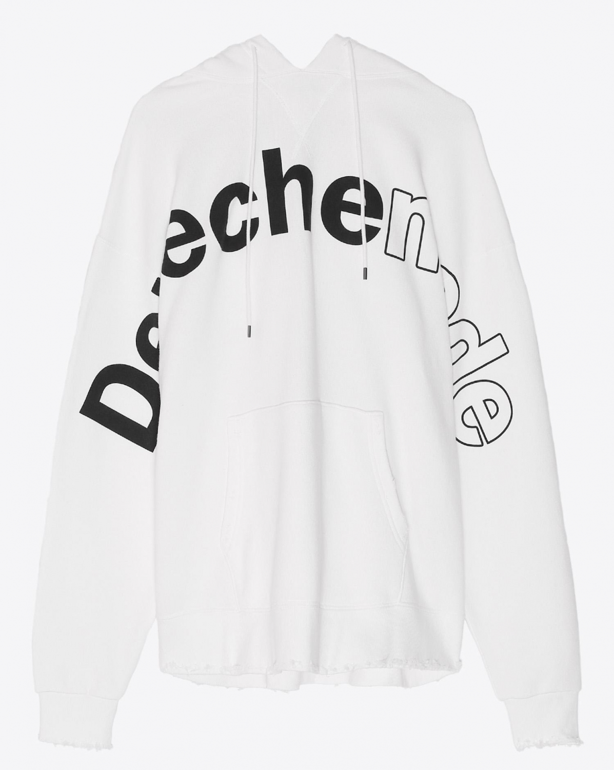 R13 Denim Collection Depeche Mode Hoodie - White