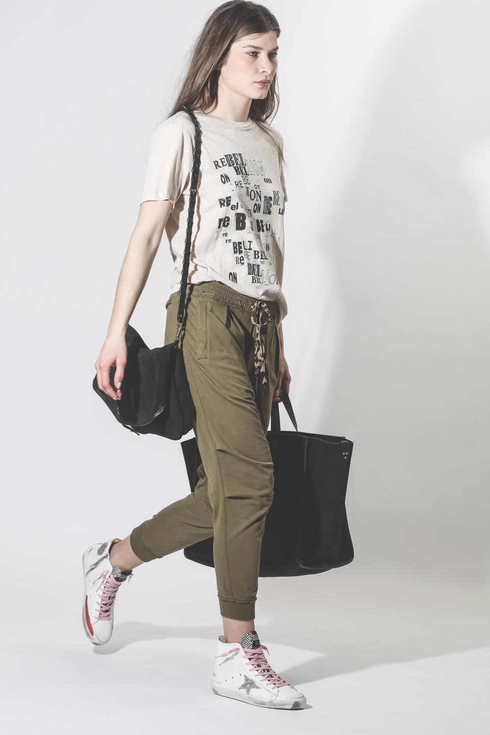 R13 Denim Collection Harem Sweatpant - Olive