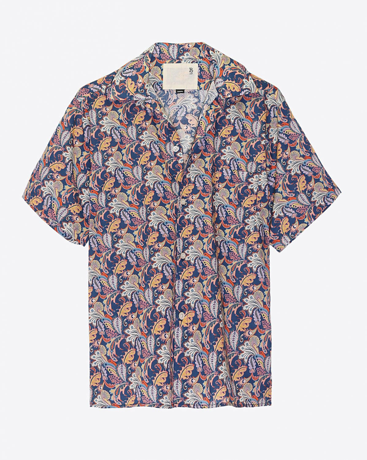 R13 Denim Pré-Collection Skater Shirt - Paisley