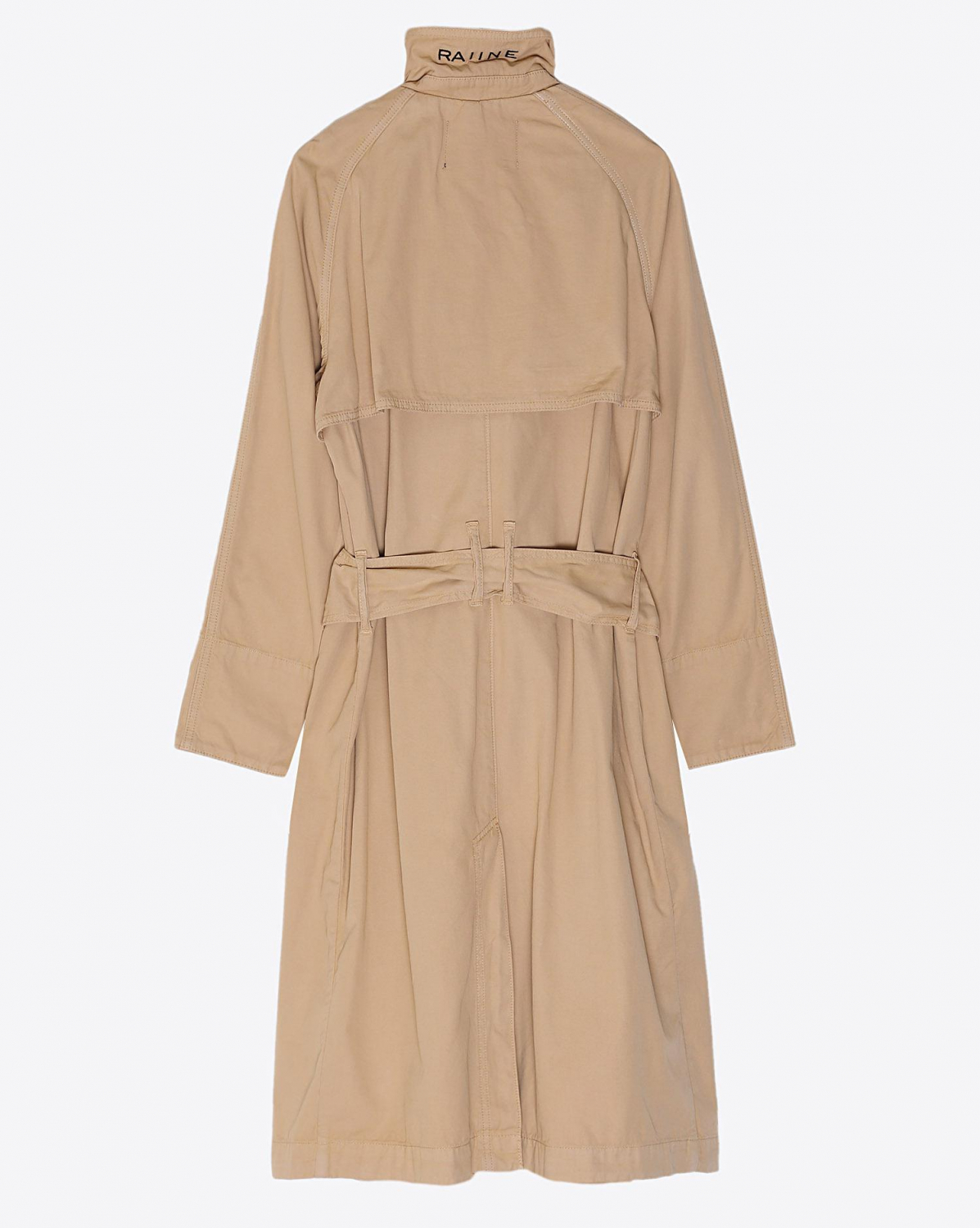 Raiine Union Trench Coat - Desert Sand