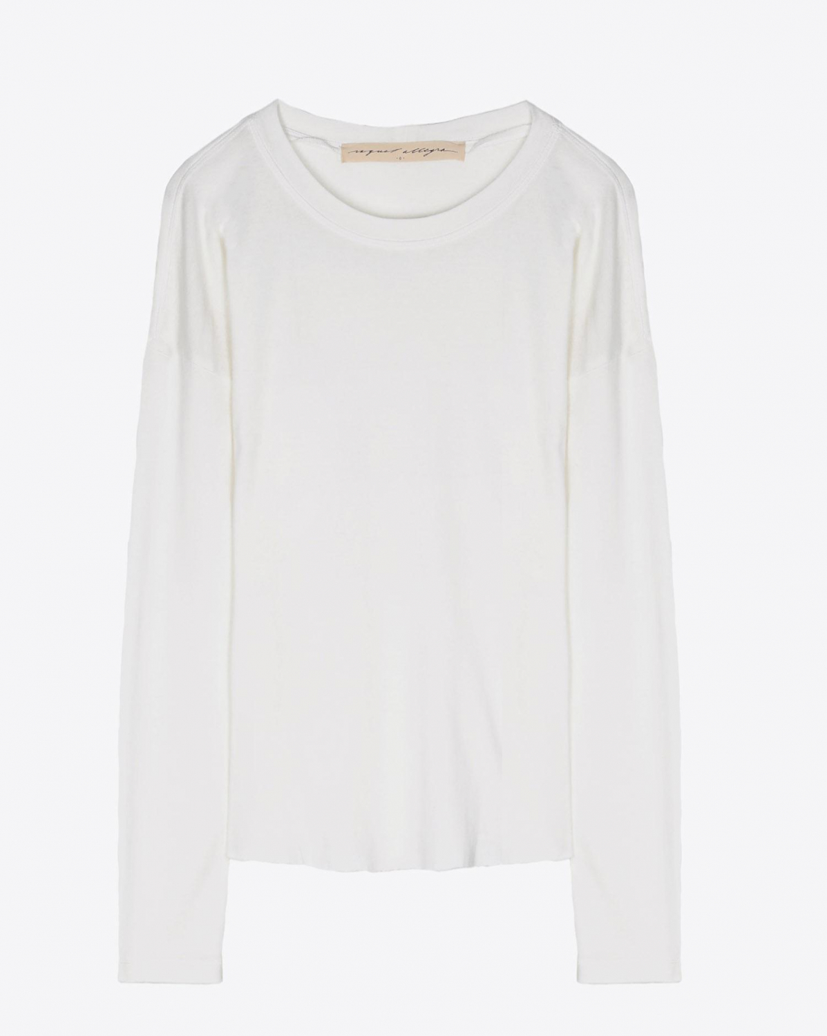 Raquel Allegra Basic Long Sleeve - Washed White