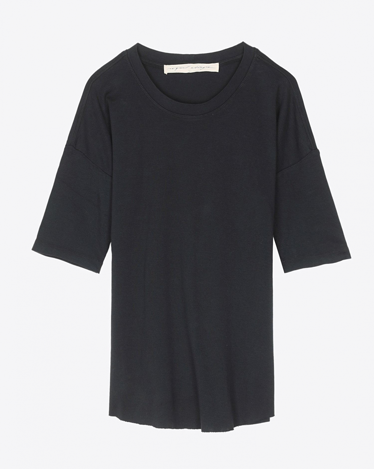 Raquel Allegra Basic Tee - Black