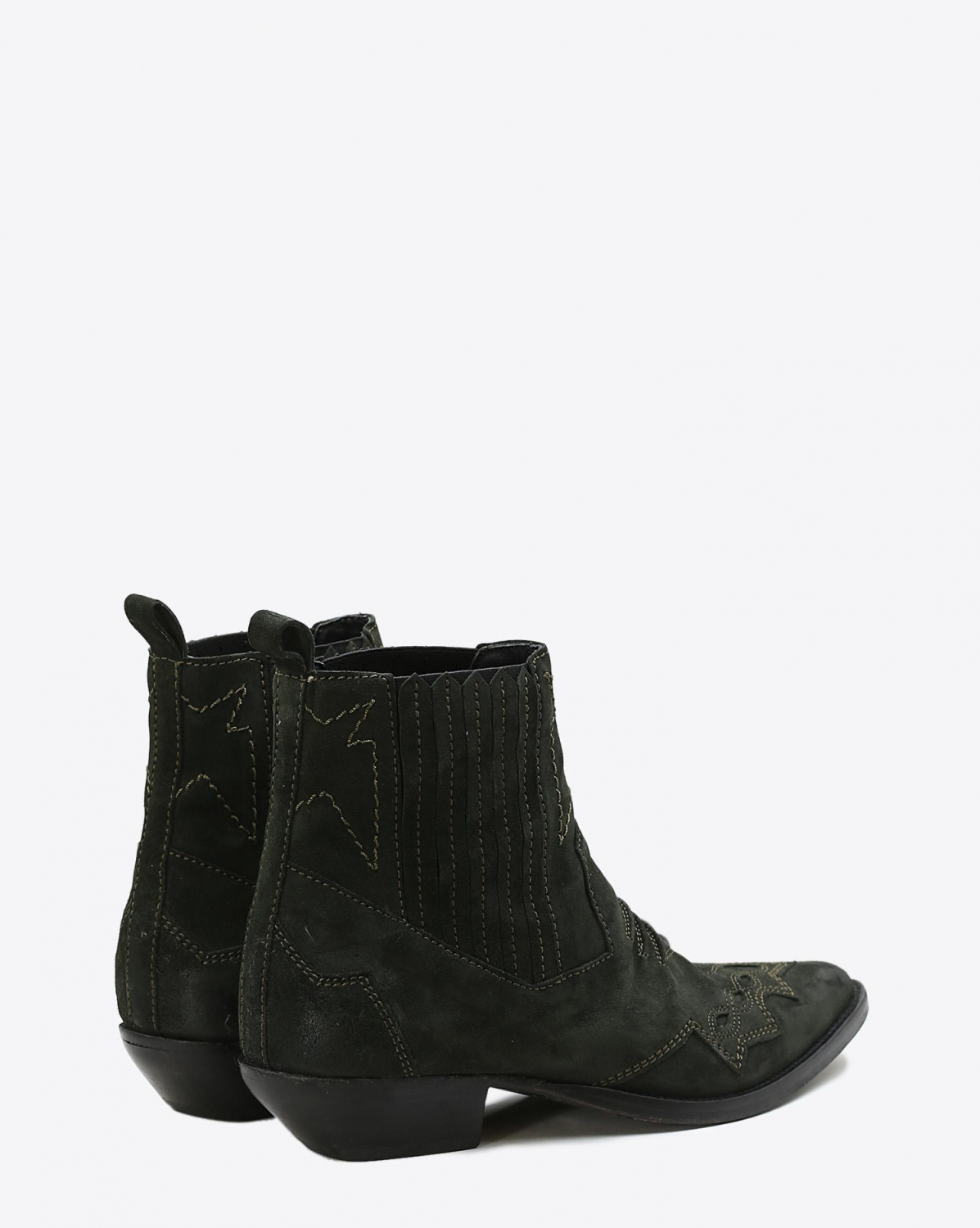 Roseanna Chaussures Boots Santiags TUCSON - Forêt