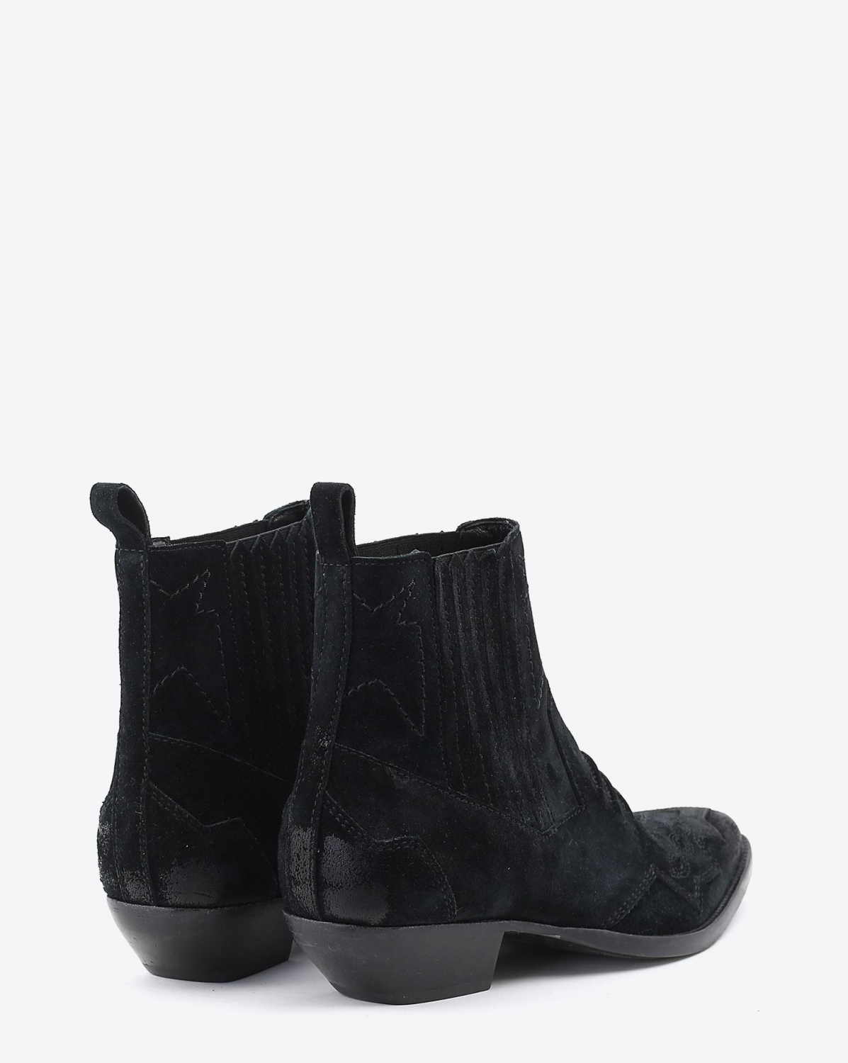 Roseanna Chaussures Boots TUCSON - Noir Suede