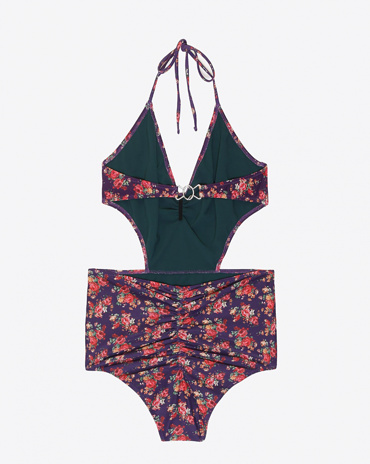 Roseanna Maillot 1 piéce Palazzo Wendy - Violet