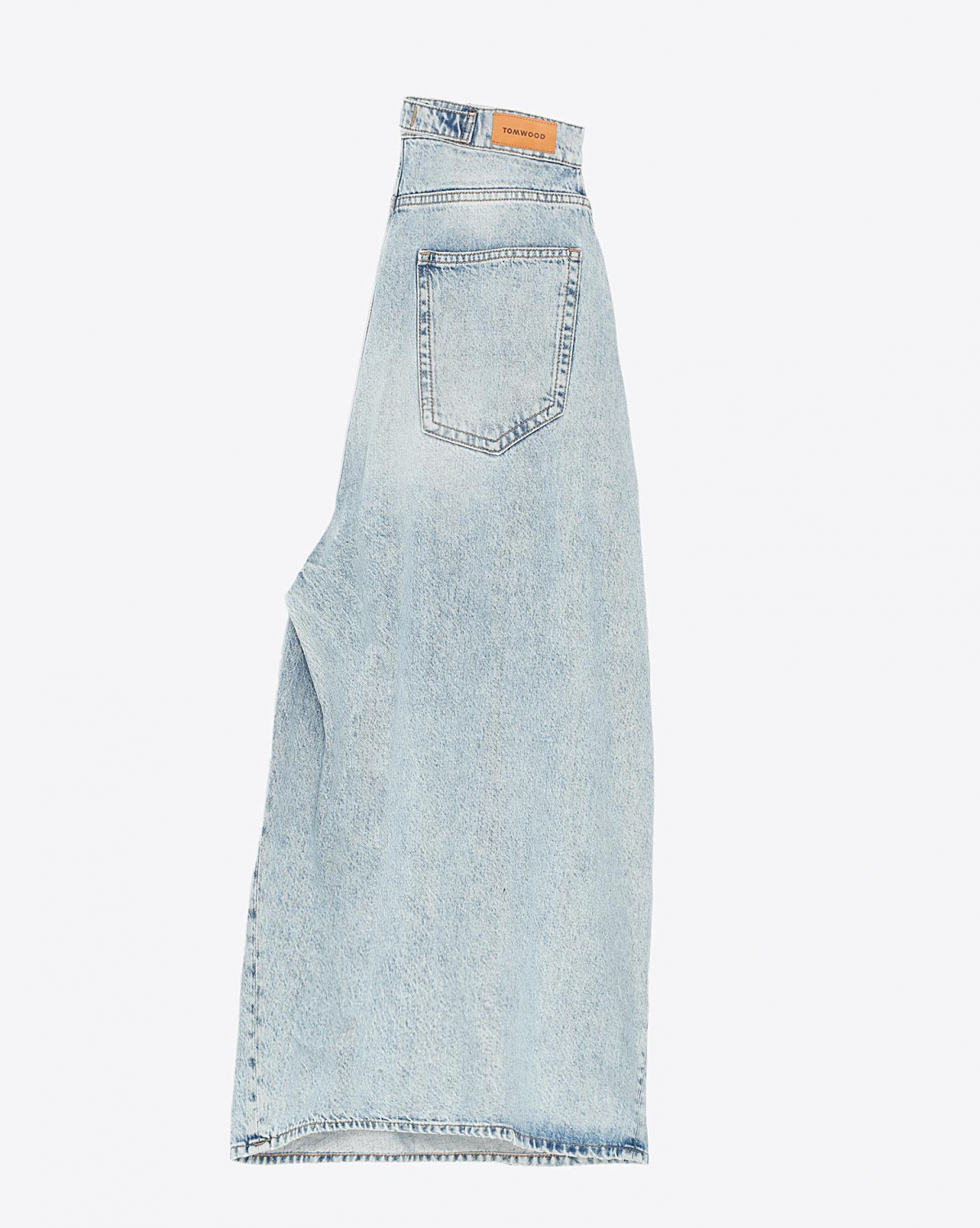 Tom Wood Shin Denim Culotte - Beach Worn