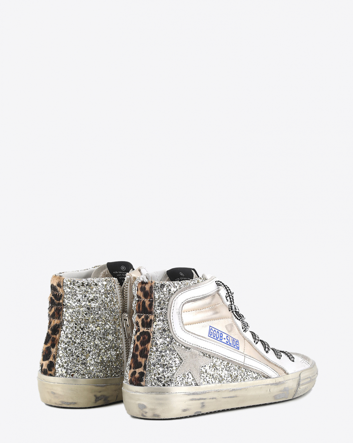 Golden Goose Woman Collection Slide - Gold Ice Leo 65147