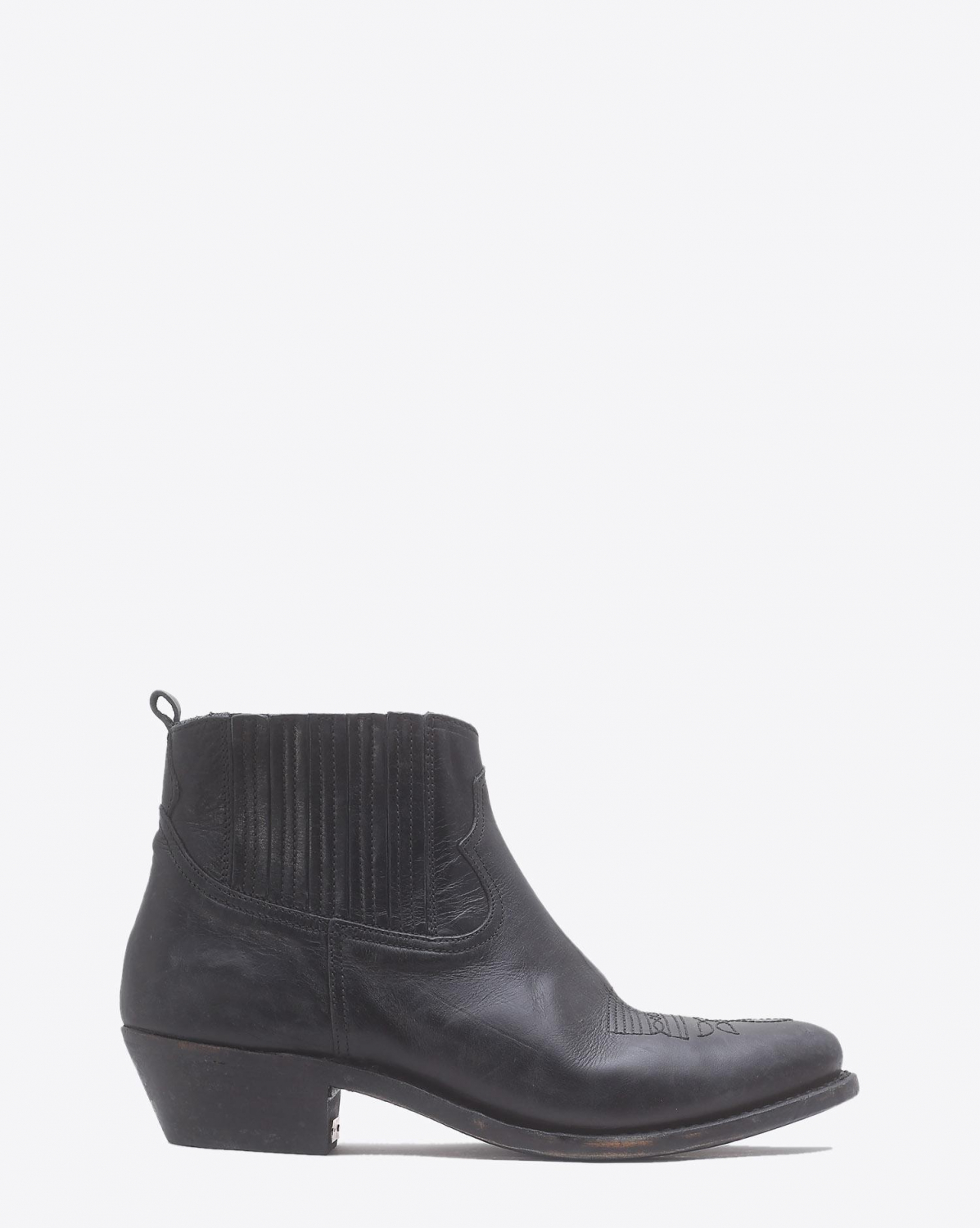 Golden Goose Woman Chaussures Pré-Collection Boots Crosby Black Leather