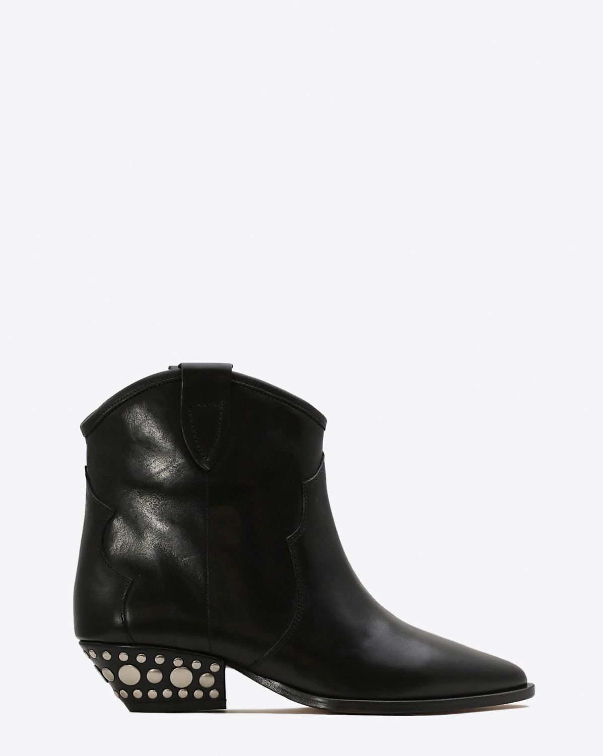 Isabel Marant Chaussures Boots Santiags DAWYNA - Leather Black