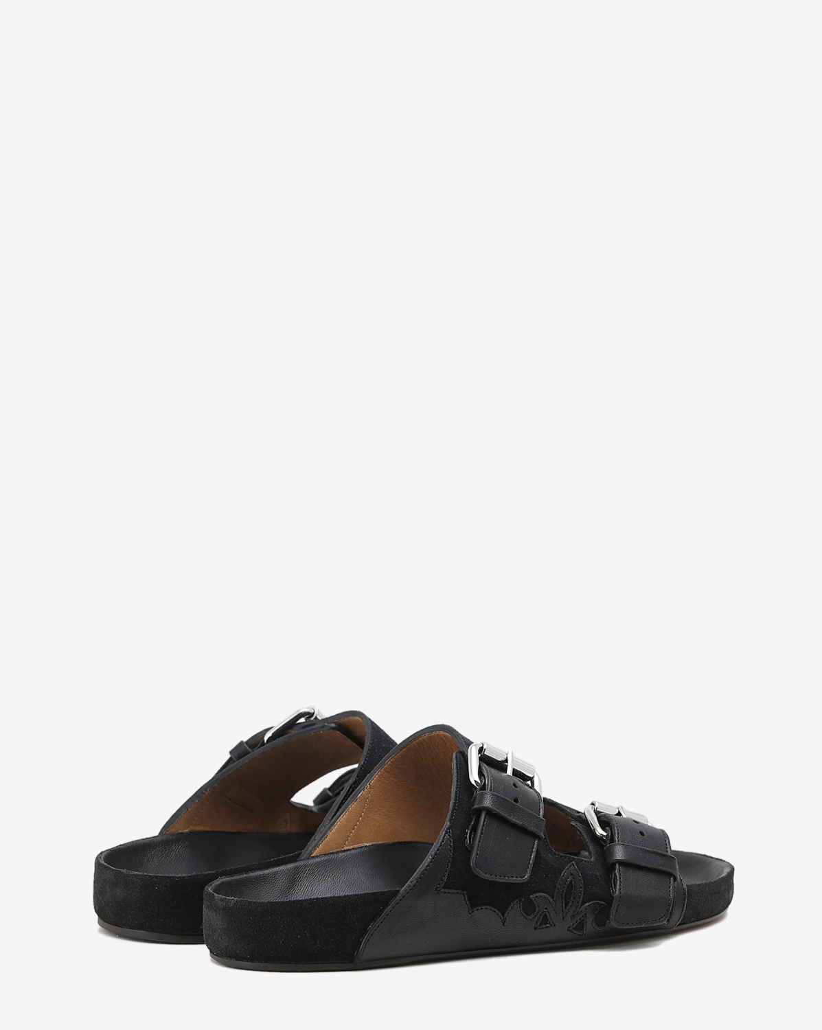 Isabel Marant Chaussures Sandales Lennyo - Faded Black