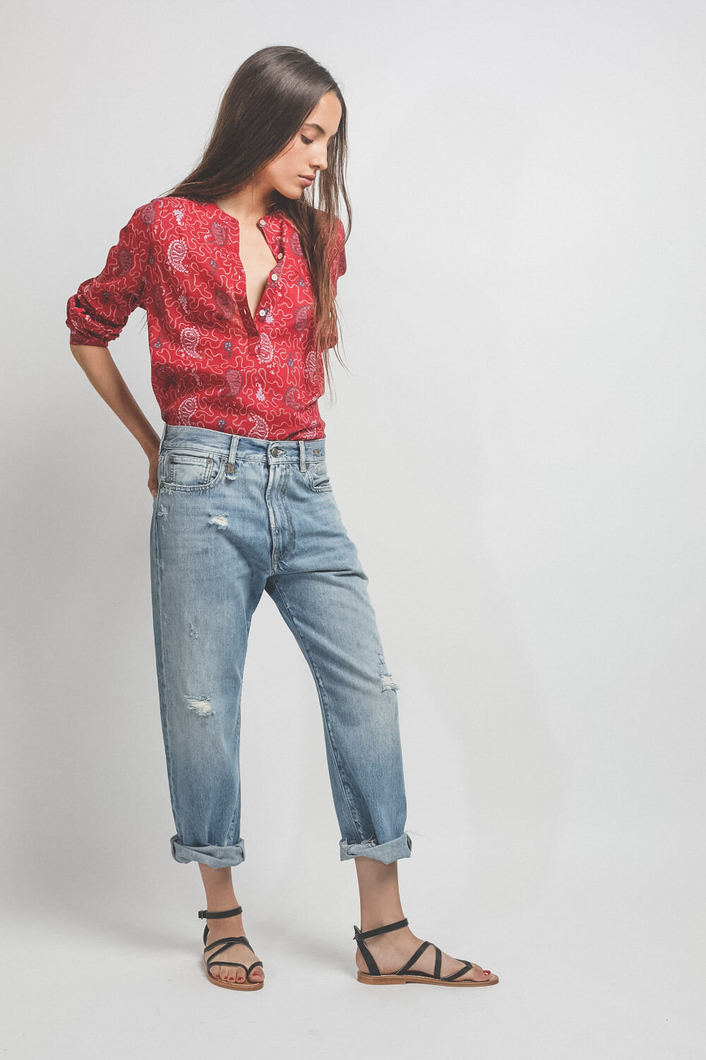 Isabel Marant Etoile Top Maria - Red