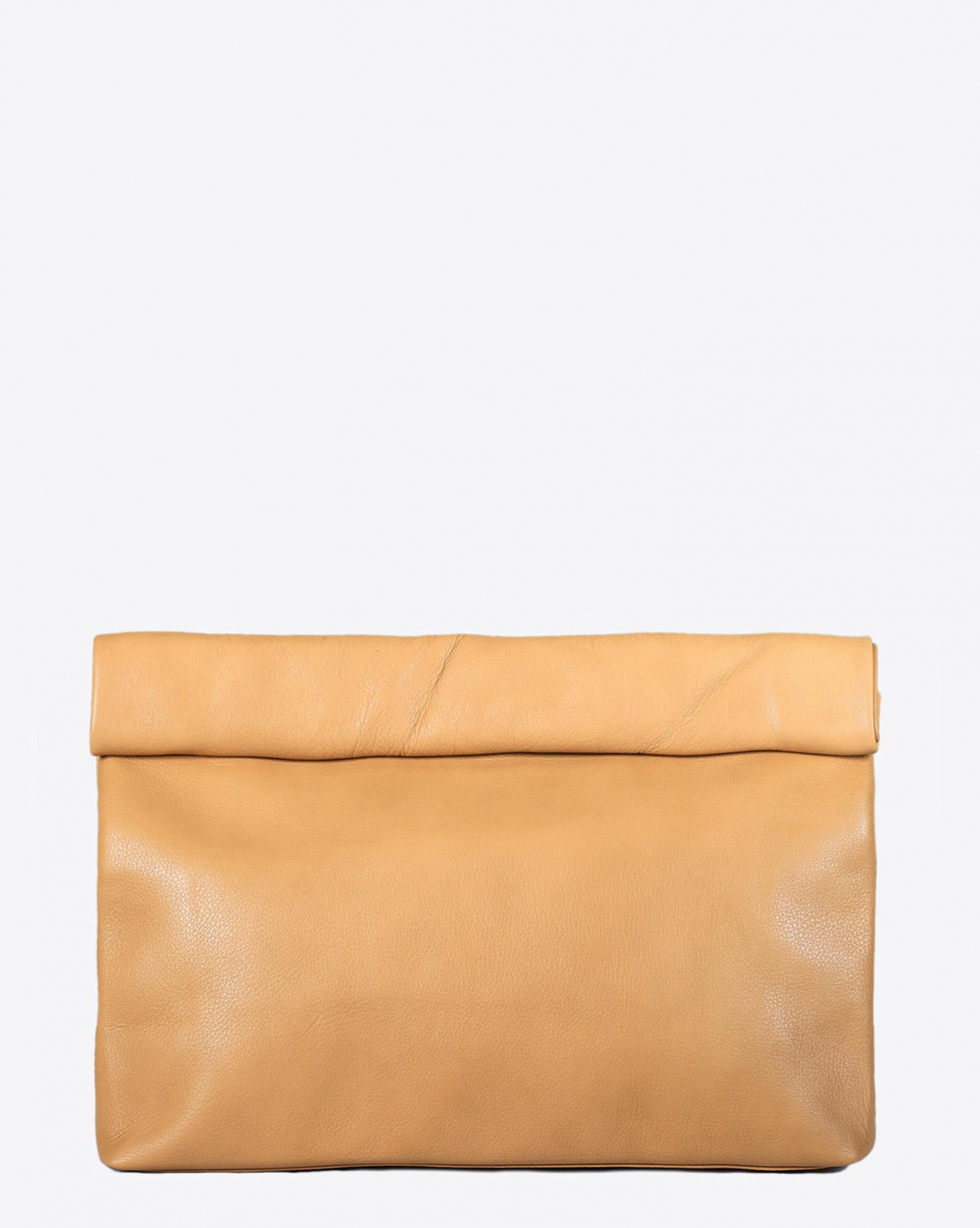 Marie Turnor Lunch Clutch - Camel