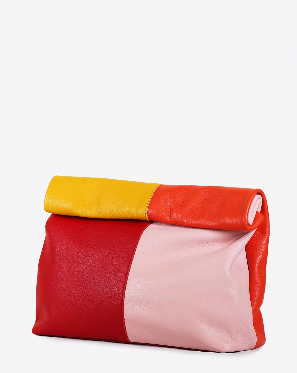 Marie Turnor Lunch Clutch - ColorBlock