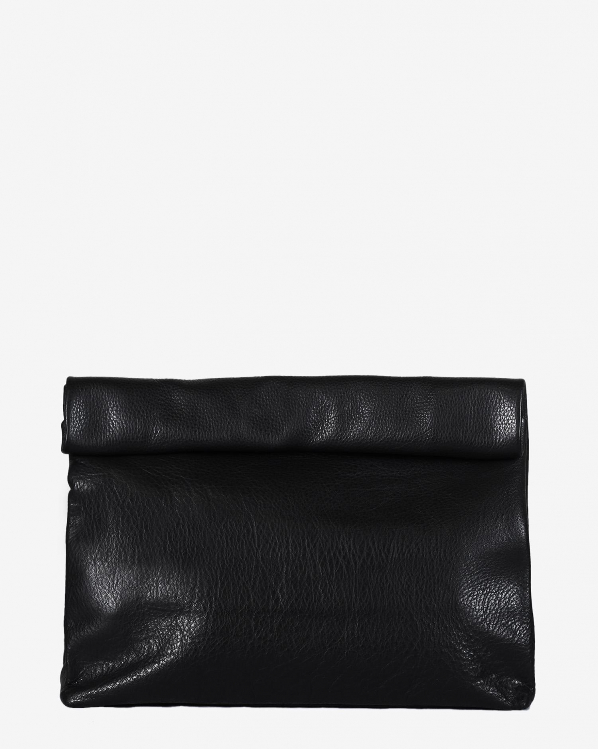Marie Turnor Lunch Clutch - Pebble Black