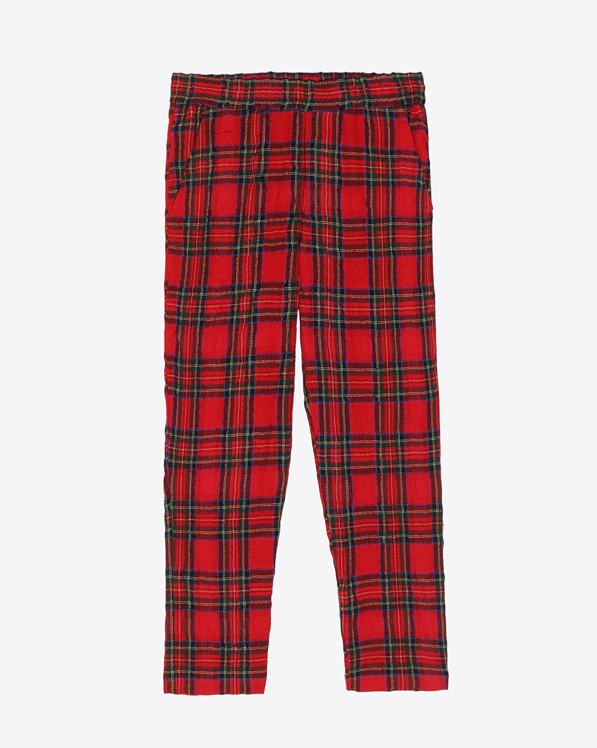 R13 Denim Pré-Collection P J Pant - Red Tartan