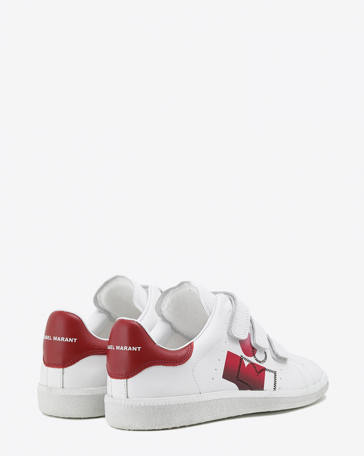 Isabel Marant Chaussures Baskets Brownsy - Red