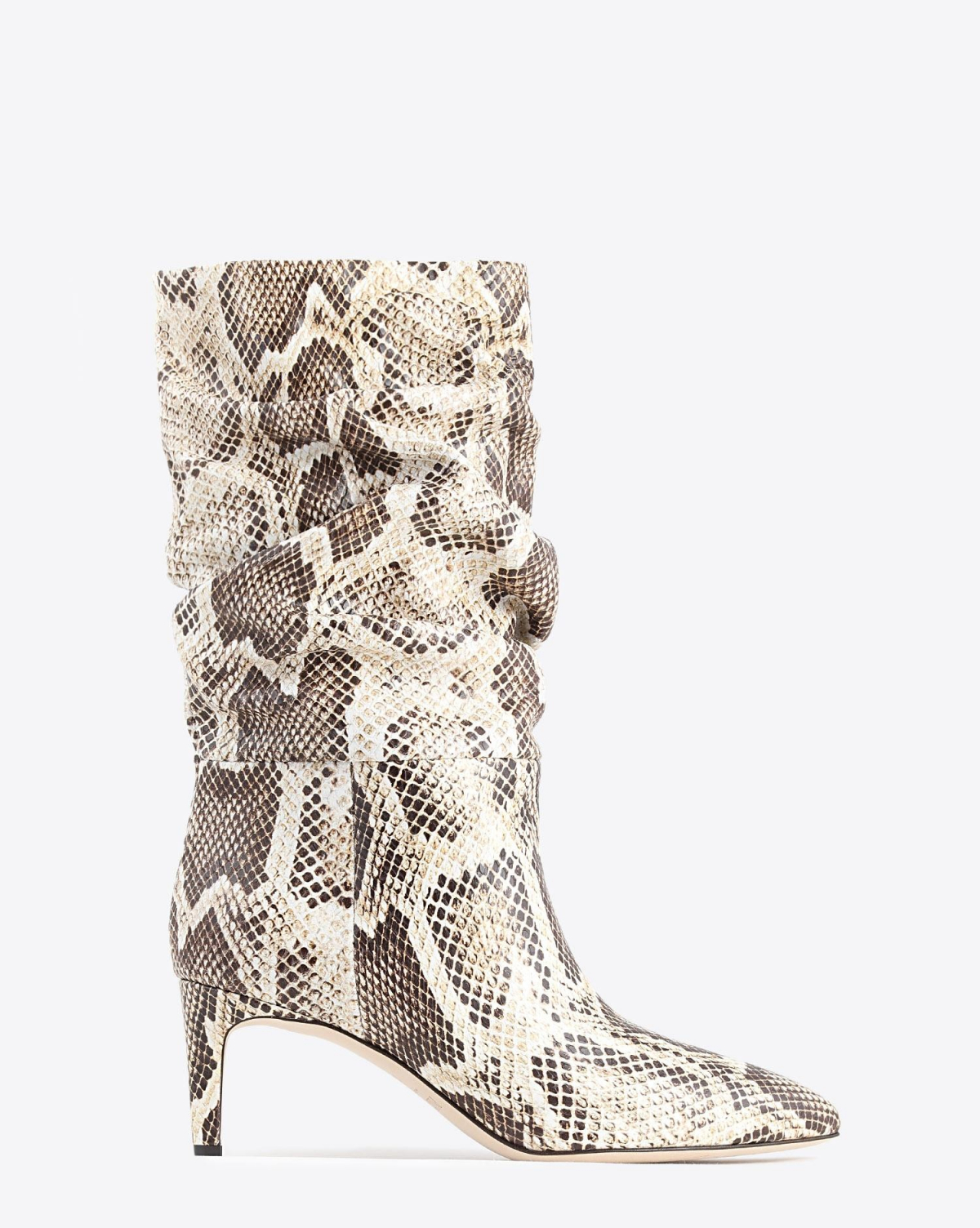 Paris Texas Pré-Collection Bottes Slouchy Imprimé Serpent - Seppia