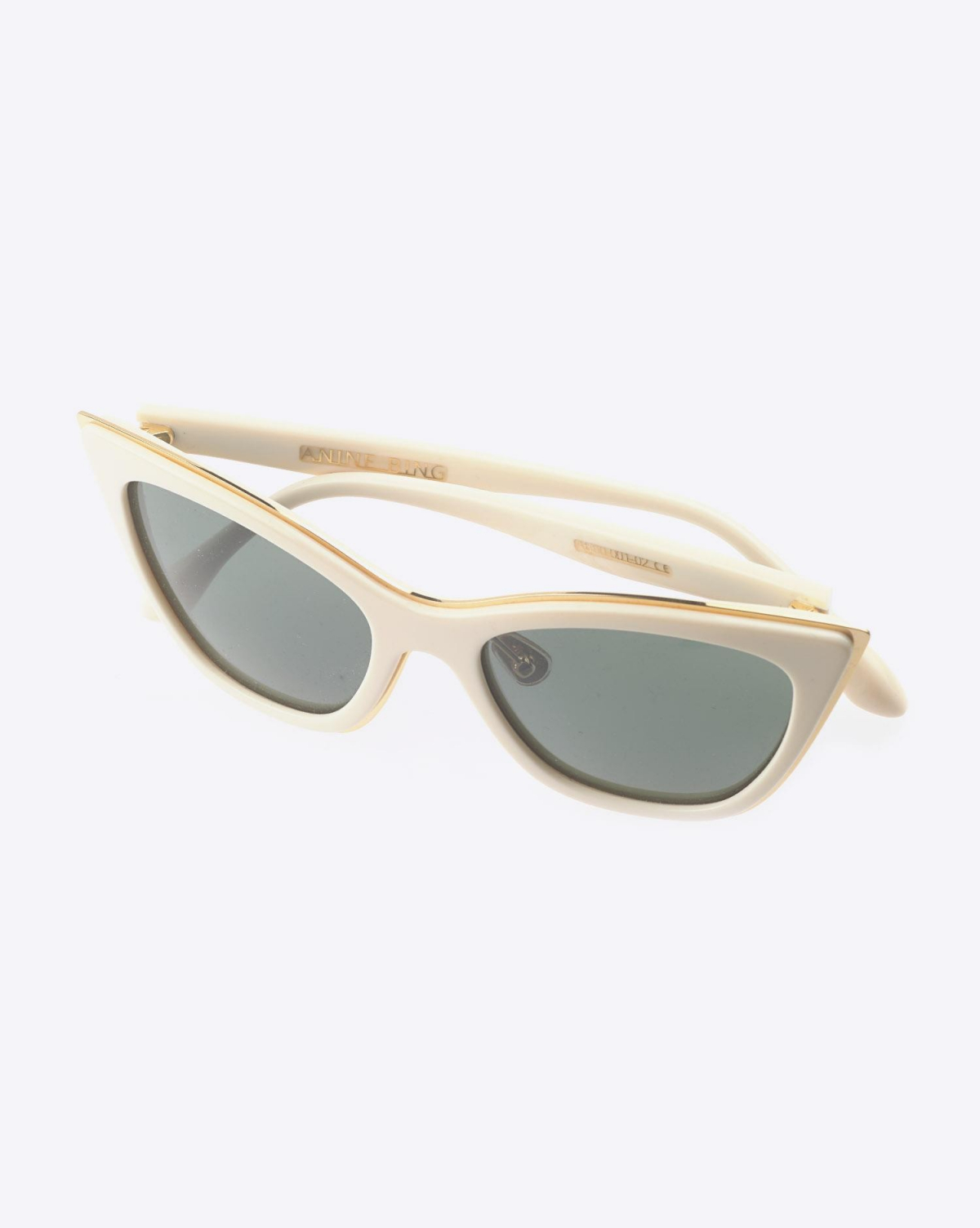 Anine Bing Echo Park Sunglasses - Bone Bone