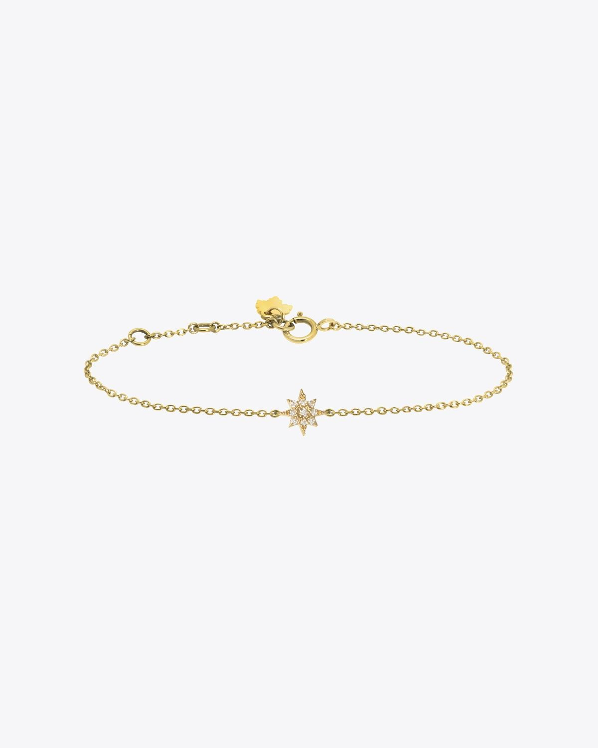 Feidt Bracelet Soleil - Or Jaune 18K et Diamants