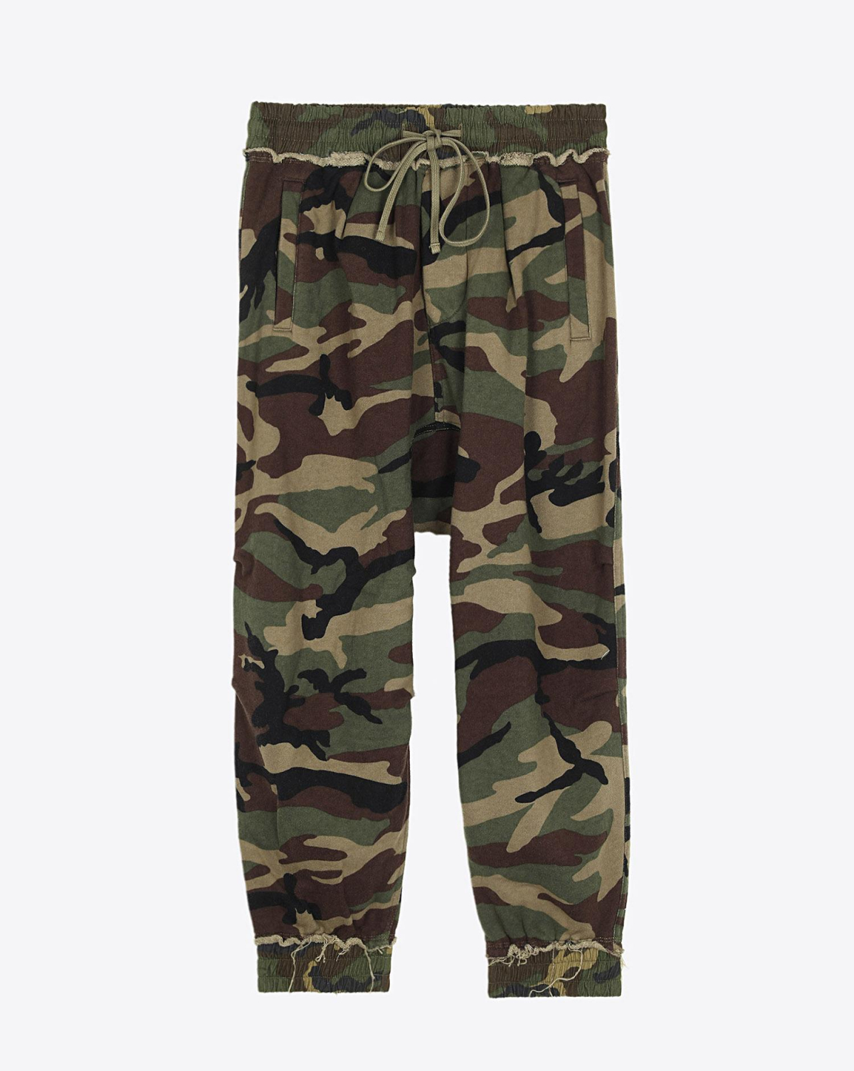 R13 Denim Pré-Collection Harem Sweatpant - Camo