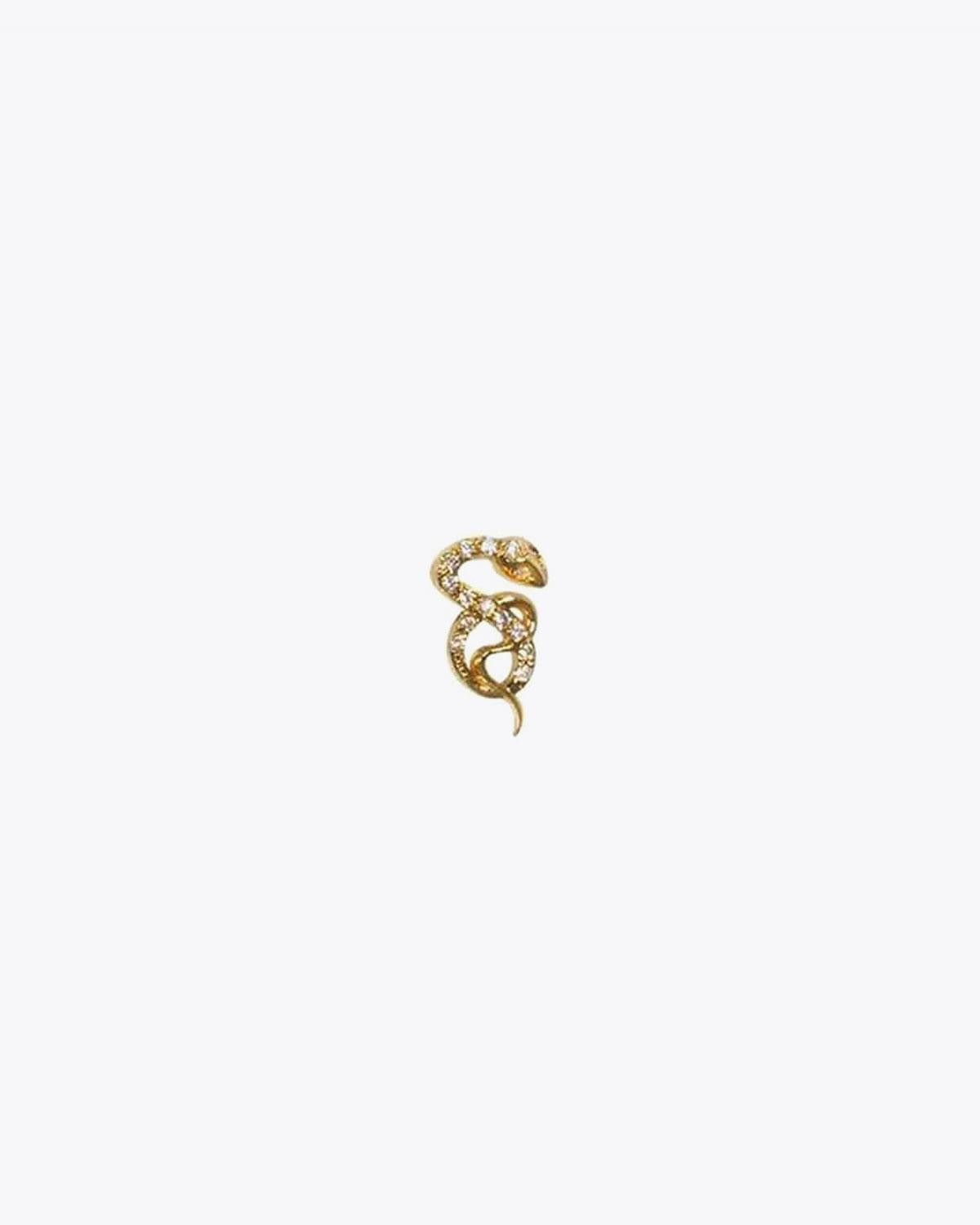Feidt Bo Serpent - Or Jaune 18K et Diamants