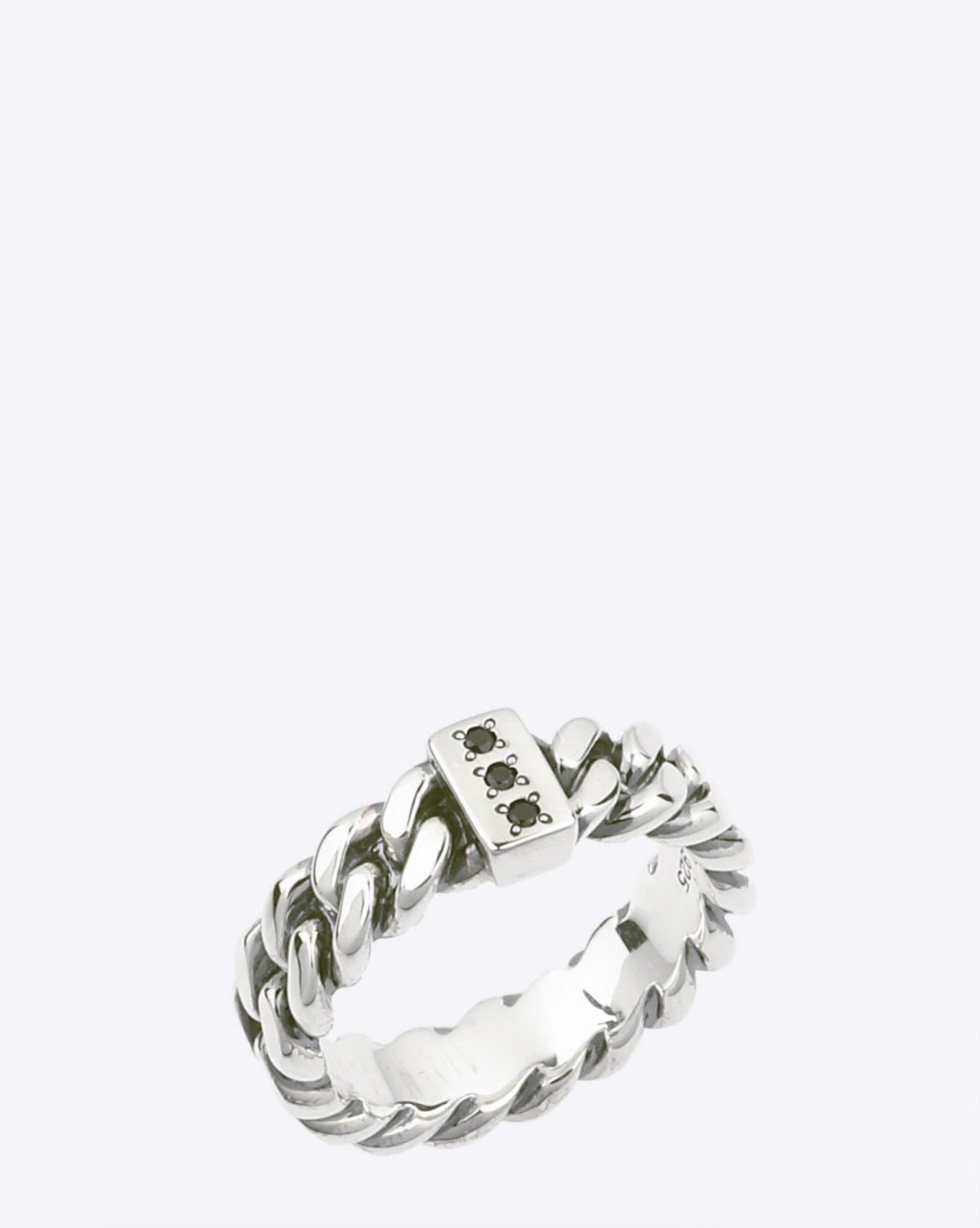 Tom Wood Chain Ring Slim Spinel