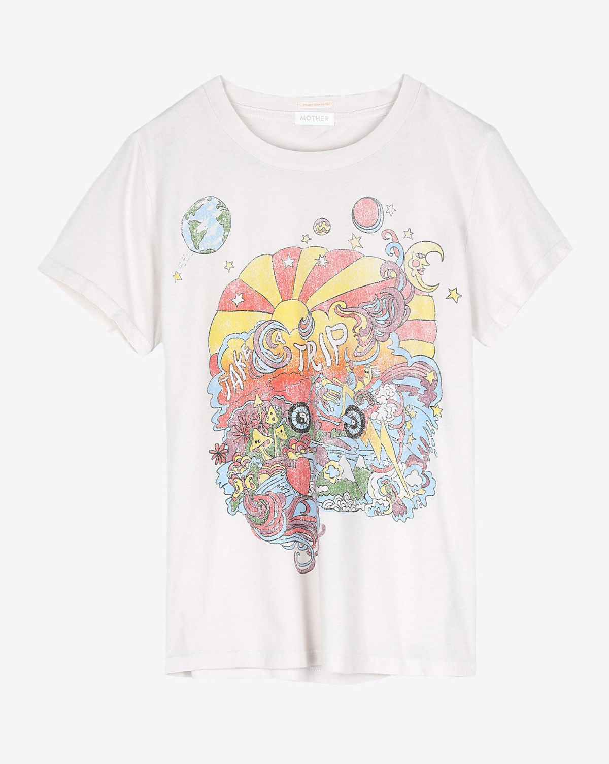 Mother Denim The Little Goodie Goodie Tee - Take A Trip