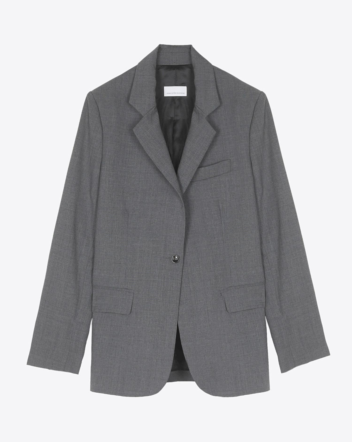Nine in the Morning Blazer Bella - Grey Melange