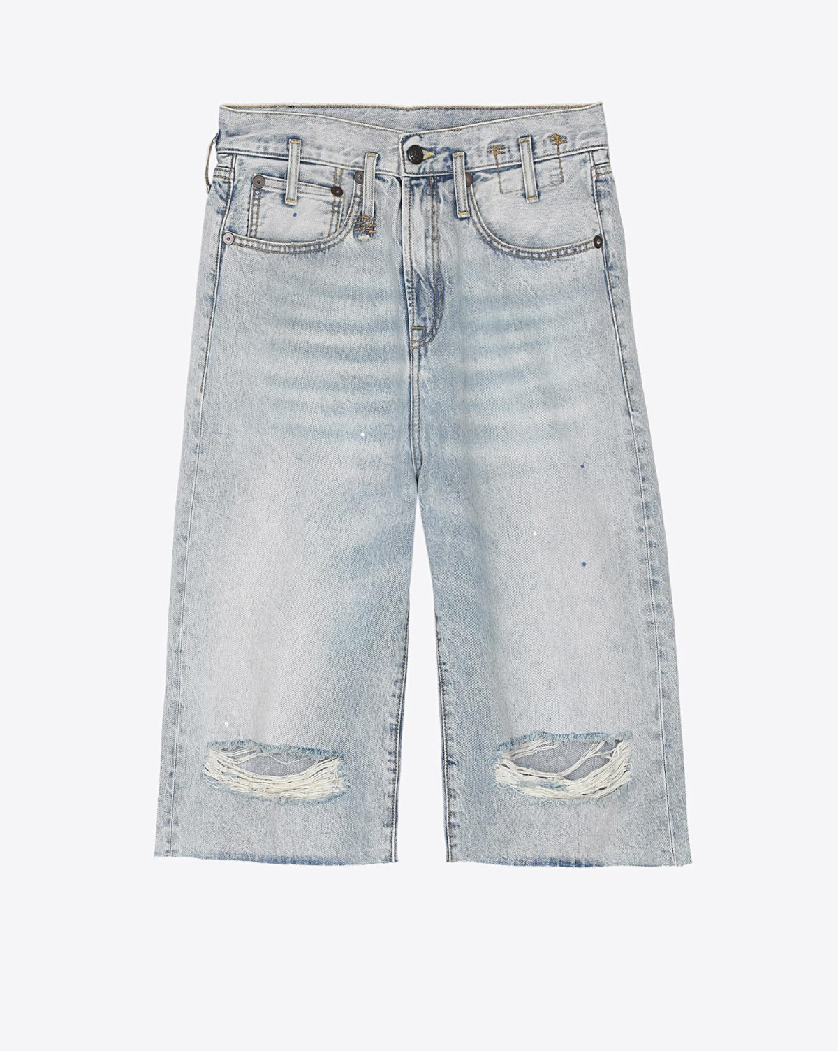 R13 Denim Collection Paperbag Short - Mercer