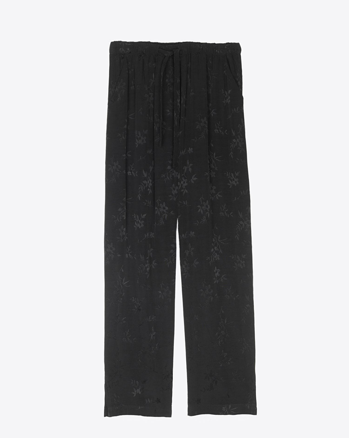 Raquel Allegra Drawstring Trouser - Black