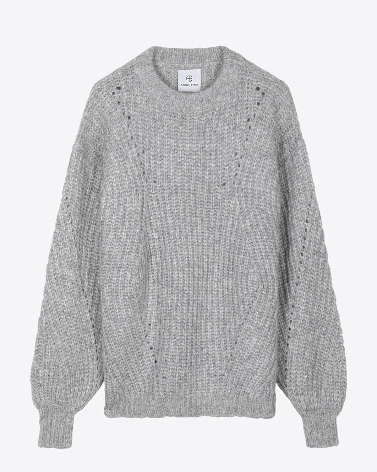 Anine Bing Jolie Sweater - Heather Grey