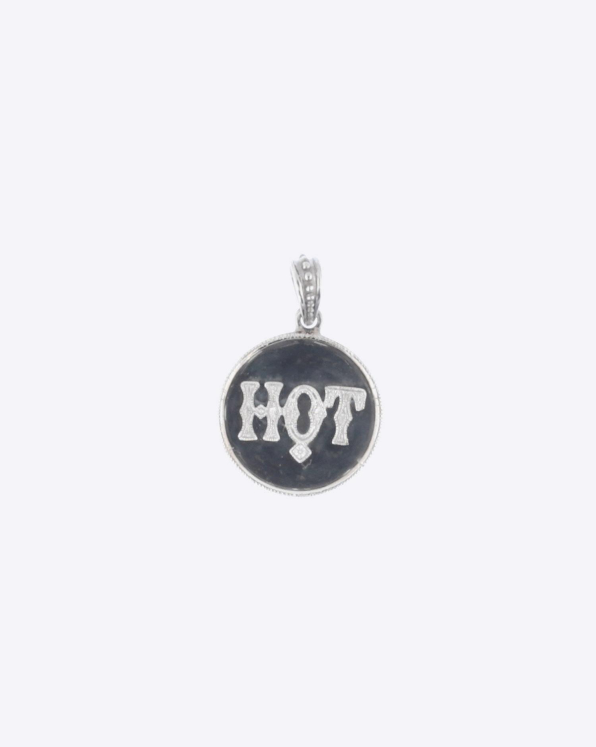De Jaegher Pendentif Hot - Or Blanc - Argent & Diamants Blancs