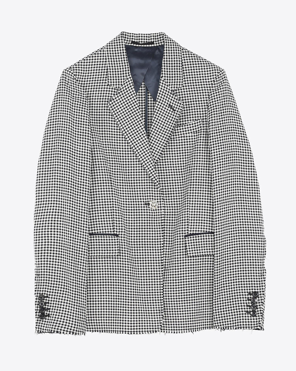 Golden Goose Vêtements Pré-Collection Jacket Golden - Navy White Check