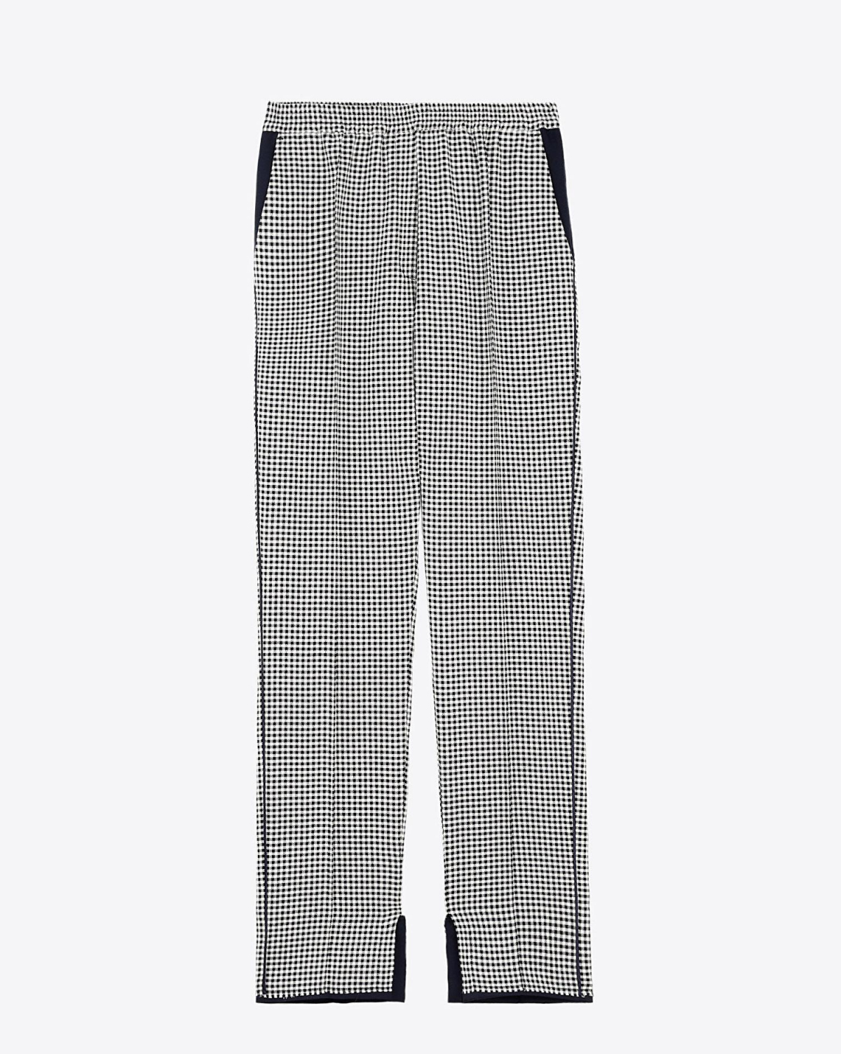Golden Goose Vêtements Pré-Collection Pant Minori - Navy White Check