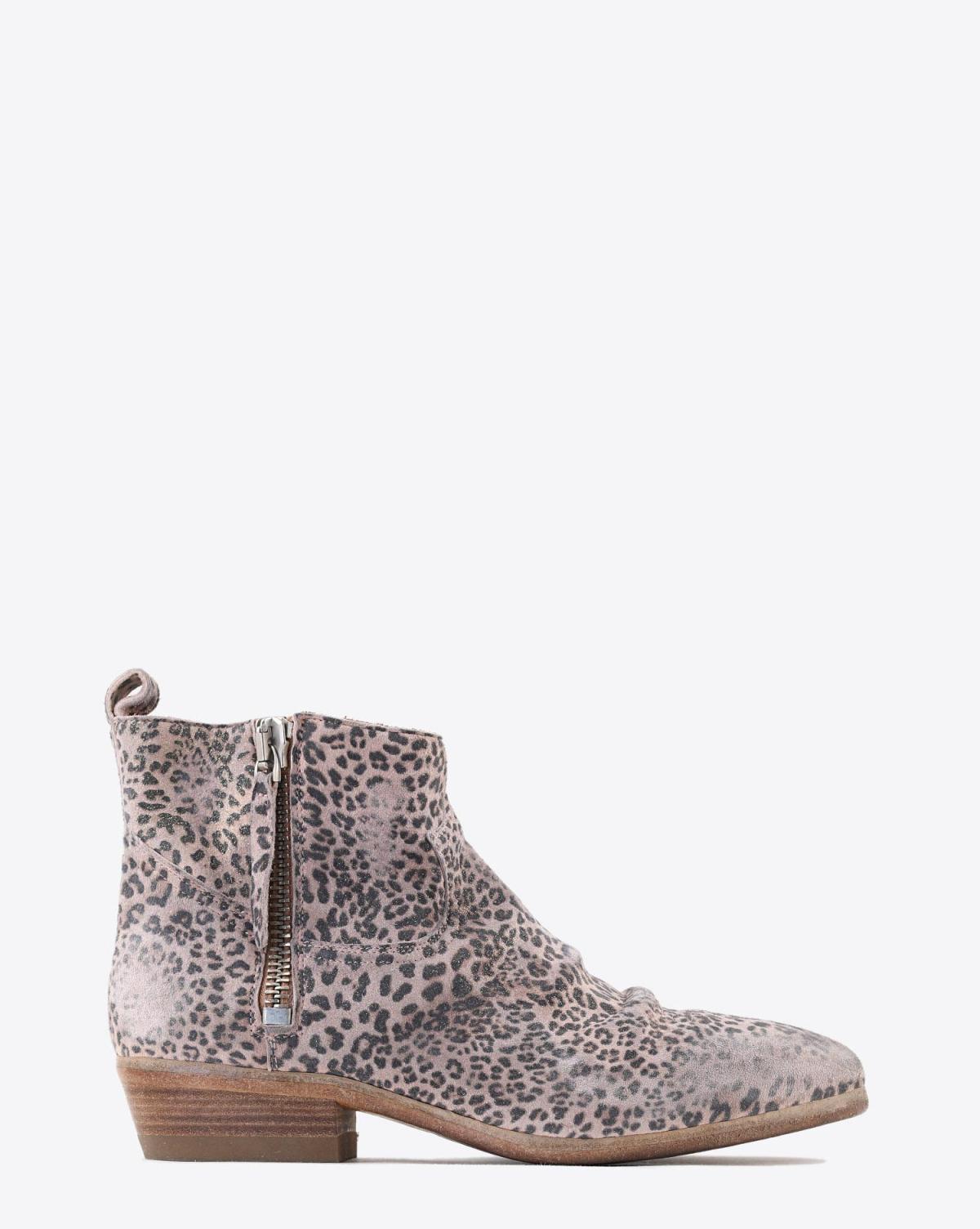 Golden Goose Woman Chaussures Collection Boots Viand - Glitter Leopard Suede