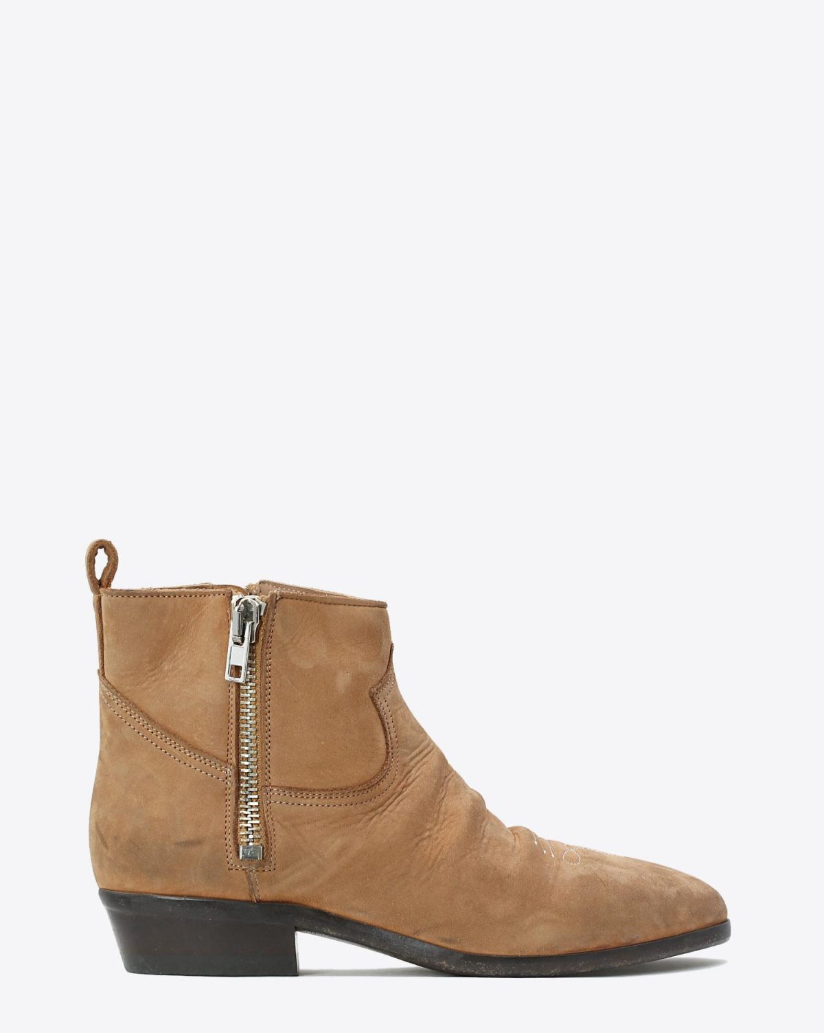 Golden Goose Woman Chaussures Collection Boots Viand - Whisky Leather