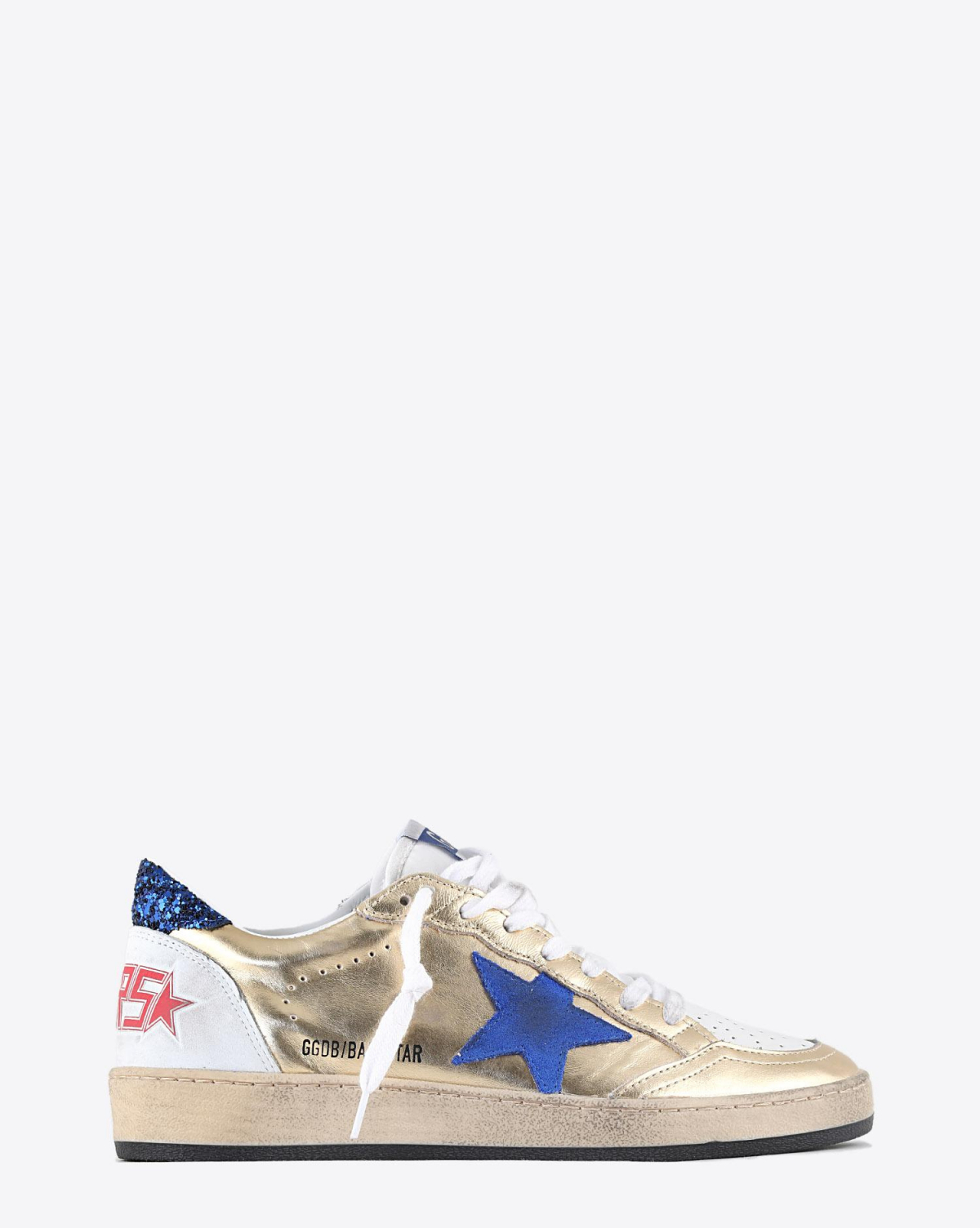 Golden Goose Woman Pré-Collection Ball Star - Gold - White - Blue 80222