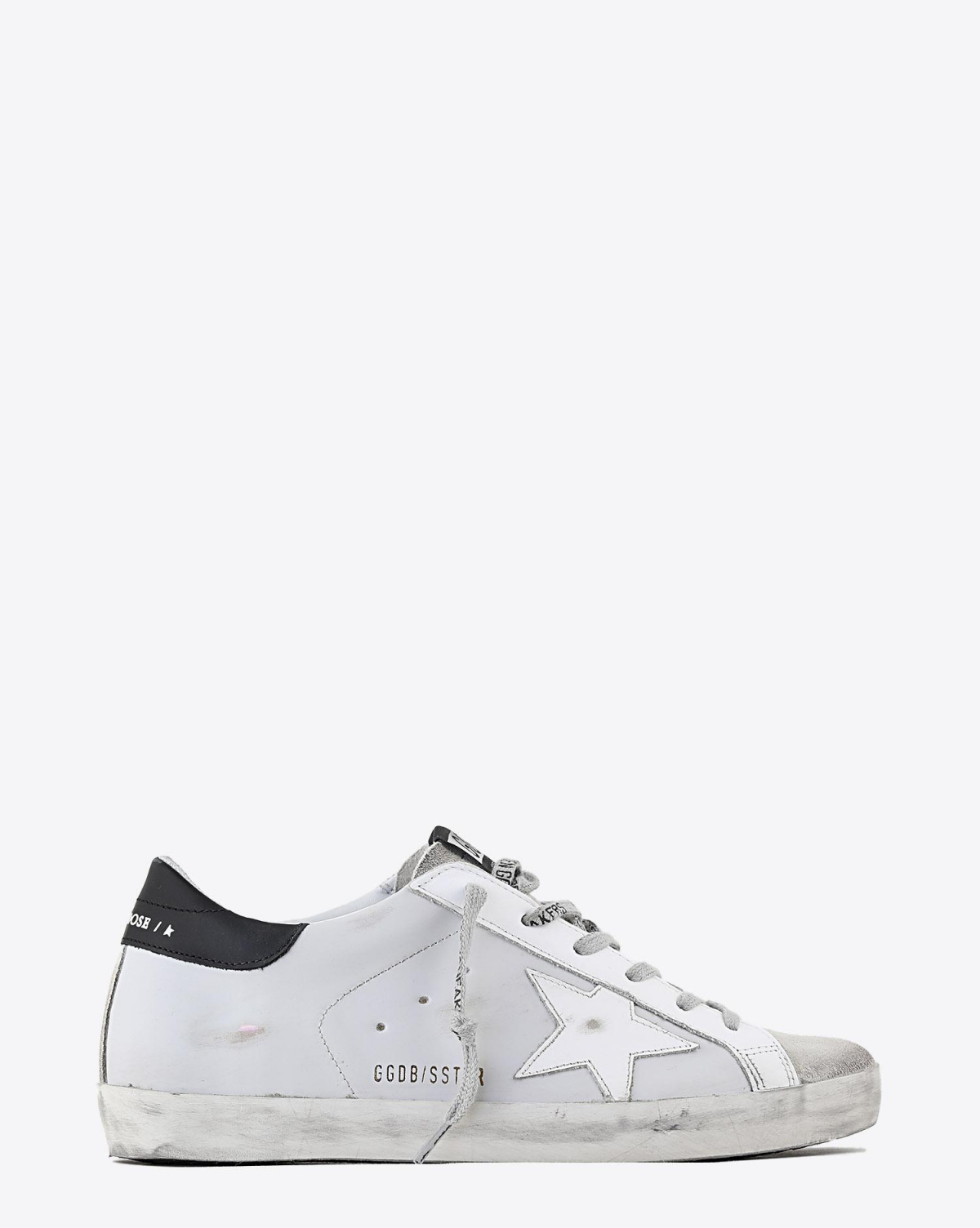 Golden Goose Woman Pré-Collection Sneakers Superstar cuir gris clair 60248