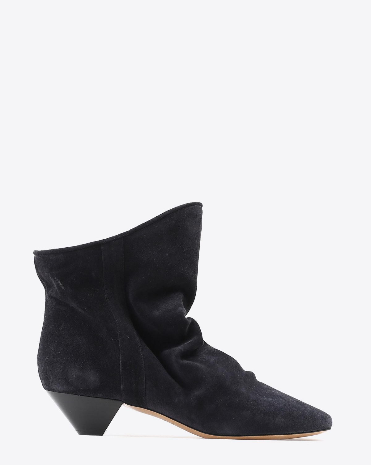 Isabel Marant Chaussures Boots DOEY - Suede Faded Black