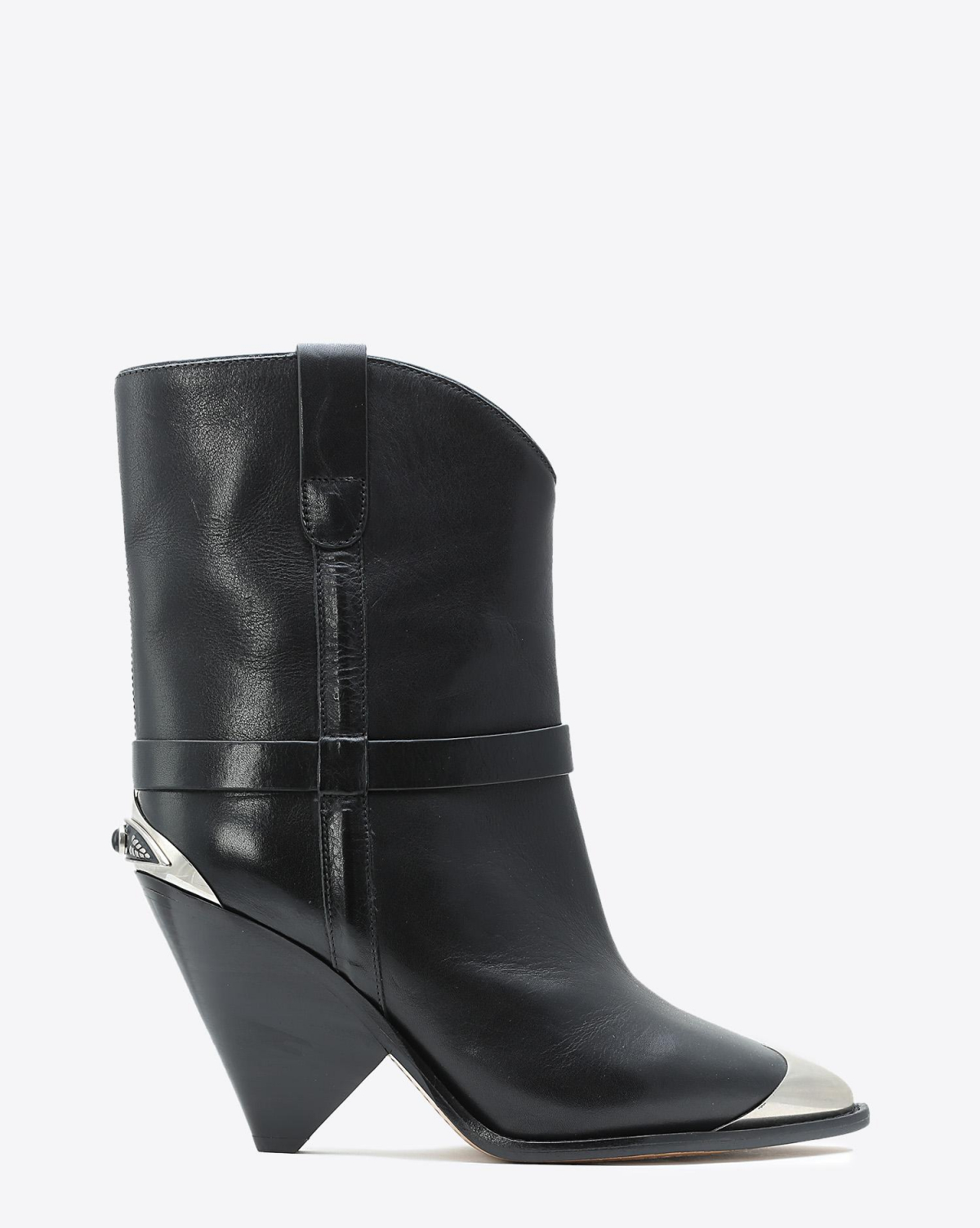 Isabel Marant Chaussures Défilé Boots Lamsy - Black