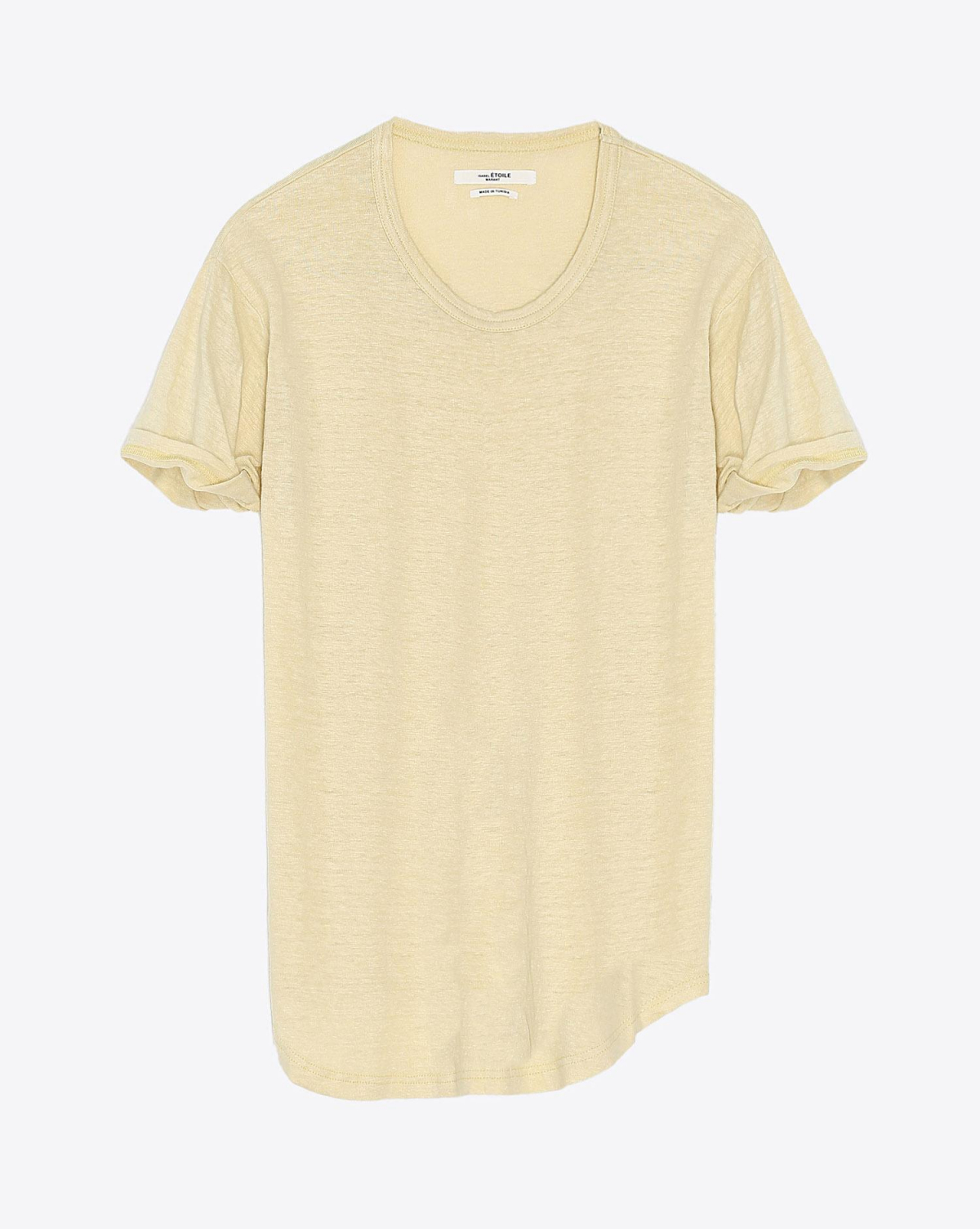 Isabel Marant Etoile Tee Shirt KOLDI - Uni Light Yellow