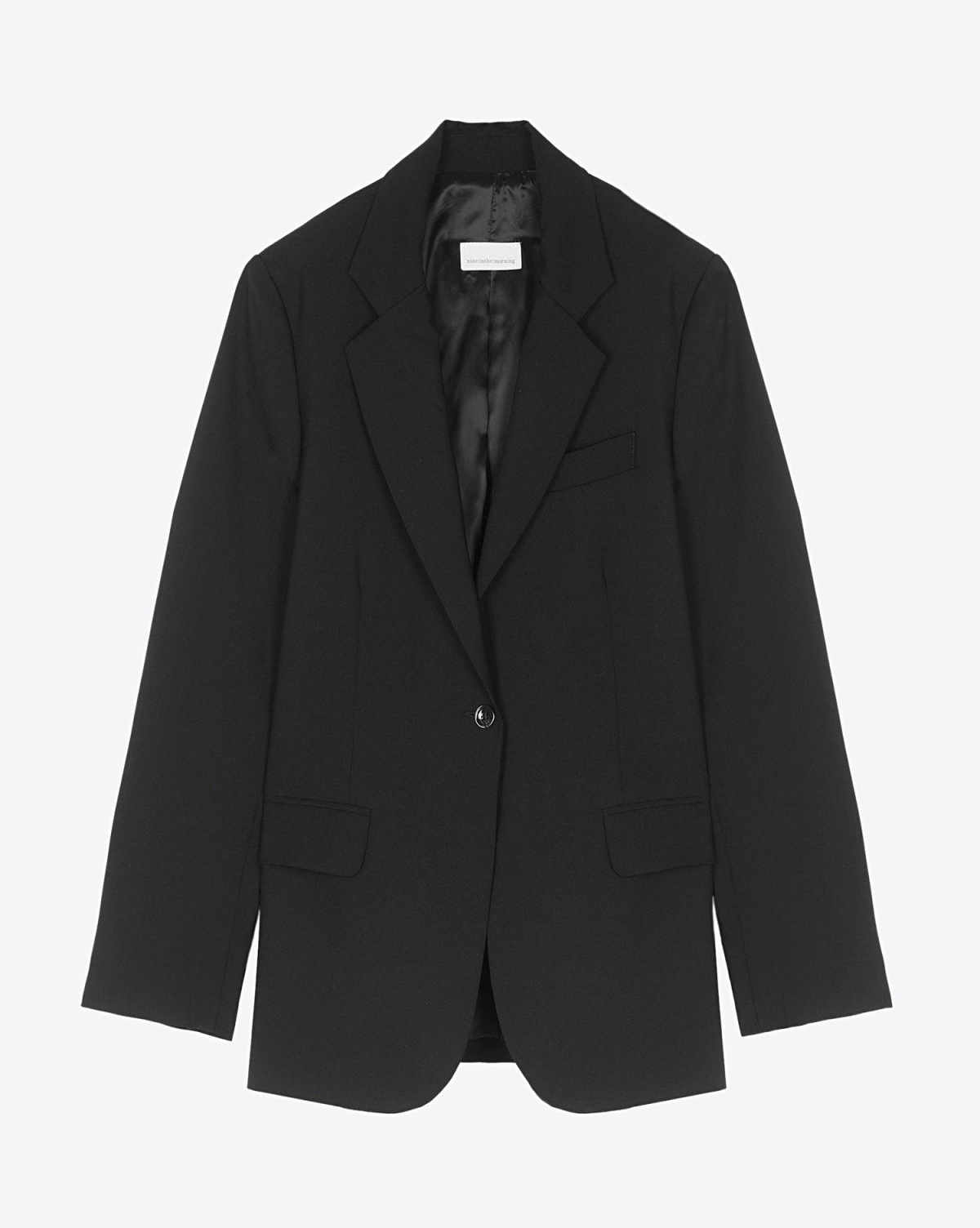 Nine in the Morning Blazer Bella - Black