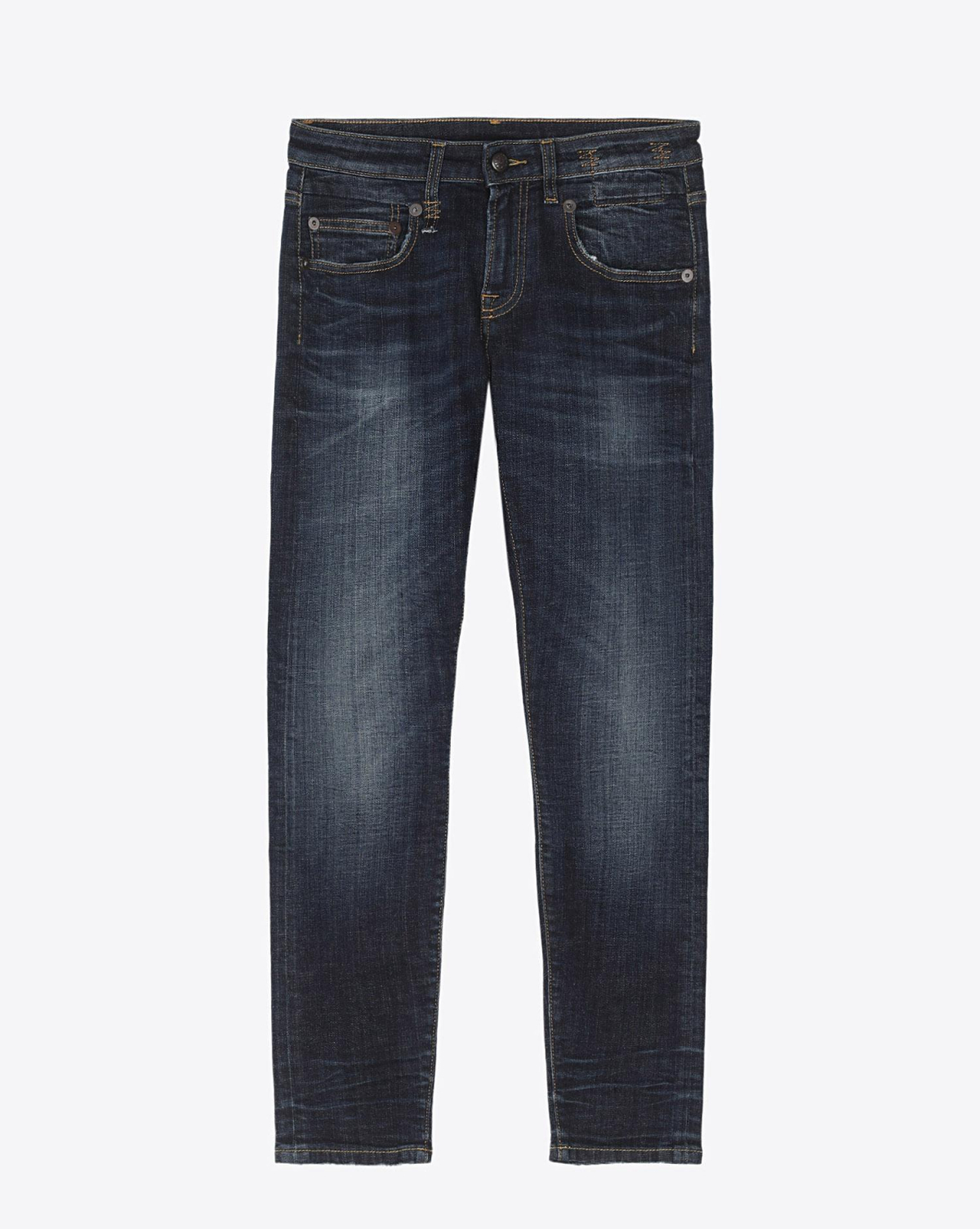 R13 Denim Pré-Collection Boy Skinny - Howell Indigo